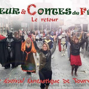 Photo officielle Flashmob Vapeur et contes de fées 2