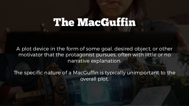 The MacGuffin - explication en anglais